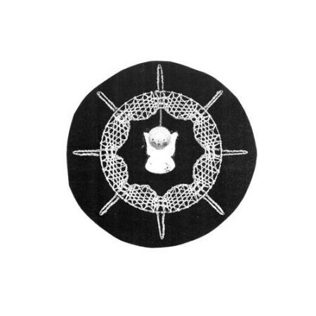 Klöppelbrief für Ring mit Kristall oder Figur | Klöppelbriefe | für ...