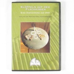 Wolter-Kampmann, DVD 2, Lace making on the flat pillow (German)