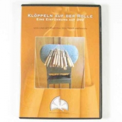 Wolter-Kampmann, DVD 2, Lace making on the roller pillow (German)