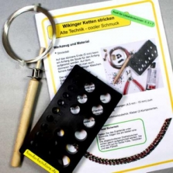 Kit Viking Chain Knitting /English instructions